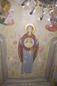 Роспись Преображенского храма в Кореневе, пос. Красково_1