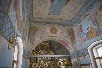 Роспись Преображенского храма в Кореневе, пос. Красково_24
