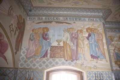Роспись Преображенского храма в Кореневе, пос. Красково_25