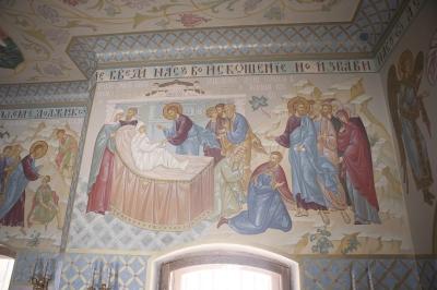 Роспись Преображенского храма в Кореневе, пос. Красково_3