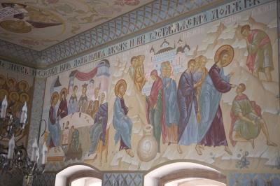 Роспись Преображенского храма в Кореневе, пос. Красково_4