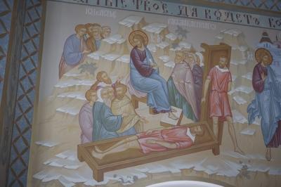 Роспись Преображенского храма в Кореневе, пос. Красково_5