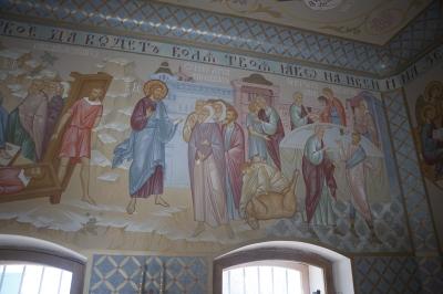 Роспись Преображенского храма в Кореневе, пос. Красково_6