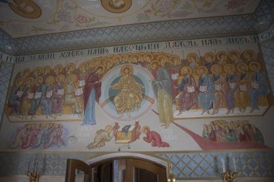 Роспись Преображенского храма в Кореневе, пос. Красково_8