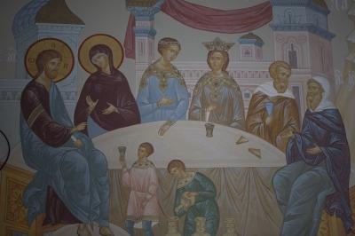 Роспись Преображенского храма в Кореневе, пос. Красково_9
