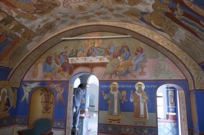 Роспись Никольского храма Борисоглебского монастыря г.Дмитров_14