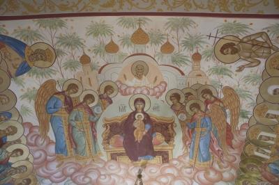 Роспись Никольского храма Борисоглебского монастыря г.Дмитров_15