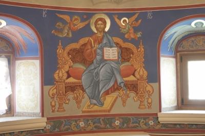 Роспись Никольского храма Борисоглебского монастыря г.Дмитров_17