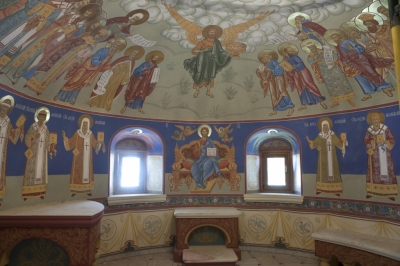 Роспись Никольского храма Борисоглебского монастыря г.Дмитров_18