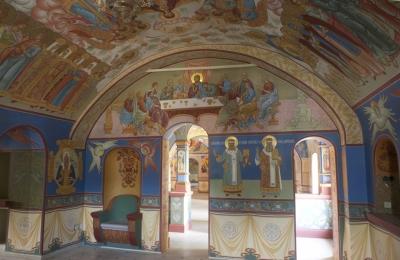Роспись Никольского храма Борисоглебского монастыря г.Дмитров_19