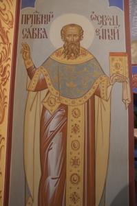 Роспись Никольского храма Борисоглебского монастыря г.Дмитров_1