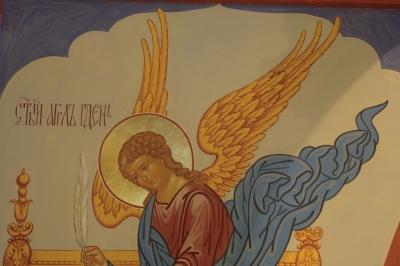 Роспись Никольского храма Борисоглебского монастыря г.Дмитров_20