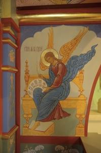 Роспись Никольского храма Борисоглебского монастыря г.Дмитров_21