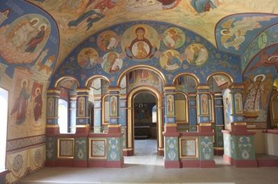 Роспись Никольского храма Борисоглебского монастыря г.Дмитров_22