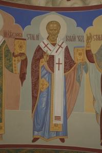 Роспись Никольского храма Борисоглебского монастыря г.Дмитров_4