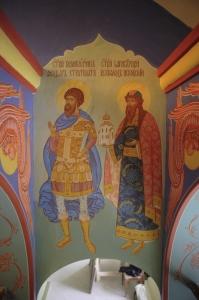 Роспись Никольского храма Борисоглебского монастыря г.Дмитров_6