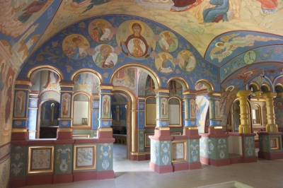 Роспись Никольского храма Борисоглебского монастыря г.Дмитров_8