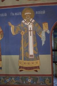 Роспись Никольского храма Борисоглебского монастыря г.Дмитров_9