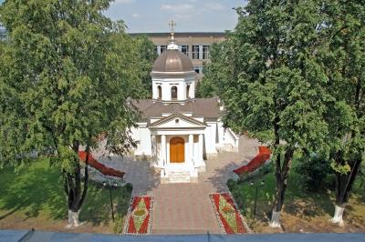 Роспись Феодоровского храма при РГСУ г. Москва_1