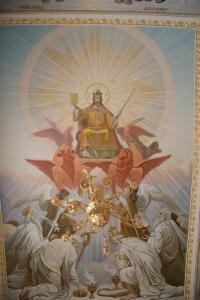 Роспись Феодоровского храма при РГСУ г. Москва_9