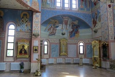 Роспись Троицкого храма г. Реутов Московской области_23