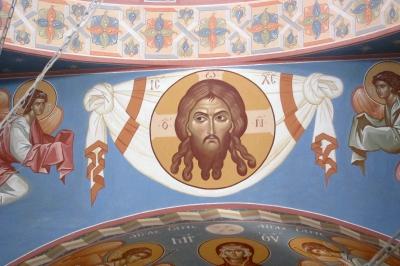 Роспись Троицкого храма г. Реутов Московской области_29