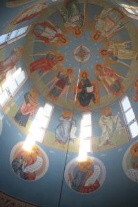Роспись храма преподобного Андрея Рублева в Раменках г. Москва_13