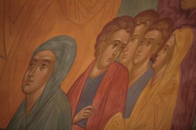 Роспись храма преподобного Андрея Рублева в Раменках г. Москва_14