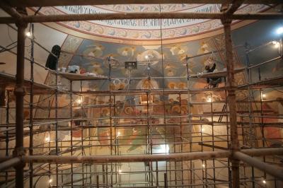 Роспись храма преподобного Андрея Рублева в Раменках г. Москва_18