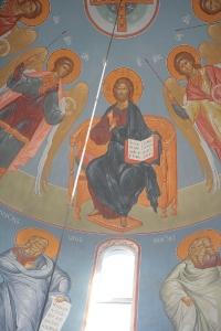 Роспись храма преподобного Андрея Рублева в Раменках г. Москва_24