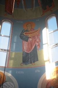 Роспись храма преподобного Андрея Рублева в Раменках г. Москва_26