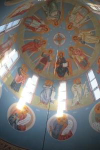 Роспись храма преподобного Андрея Рублева в Раменках г. Москва_2