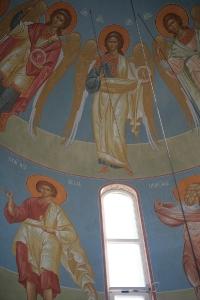 Роспись храма преподобного Андрея Рублева в Раменках г. Москва_30