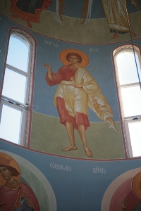 Роспись храма преподобного Андрея Рублева в Раменках г. Москва_3