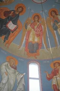 Роспись храма преподобного Андрея Рублева в Раменках г. Москва_4