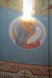 Роспись храма преподобного Андрея Рублева в Раменках г. Москва_6