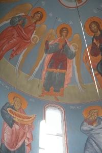 Роспись храма преподобного Андрея Рублева в Раменках г. Москва_8
